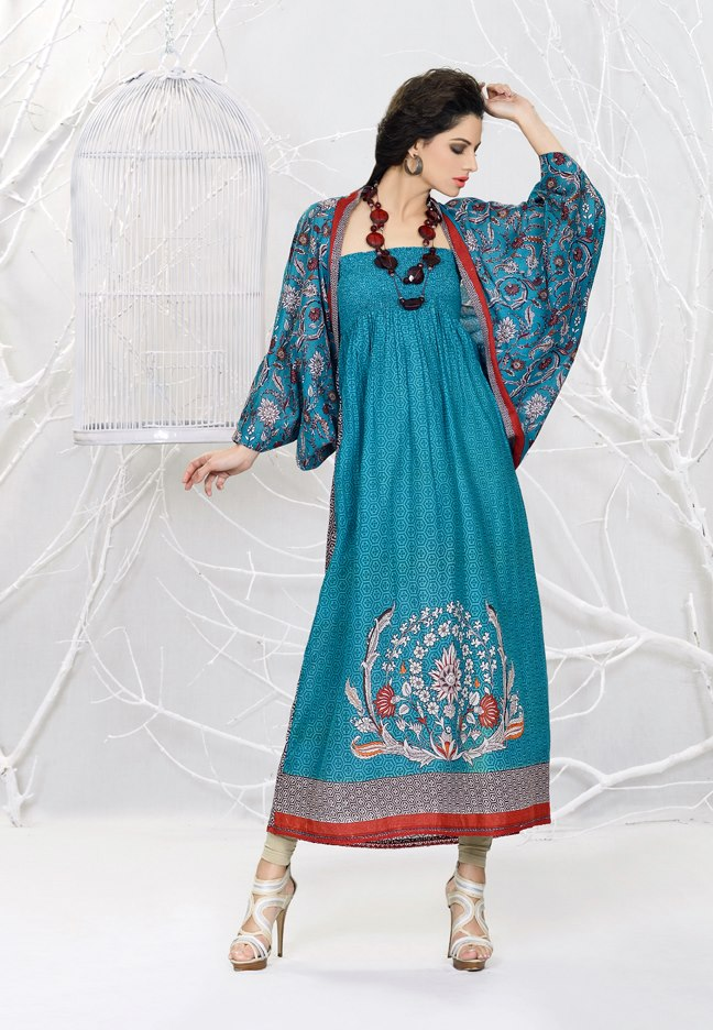 Khaadi Summer Lawn 2013-2014 | Khaadi Turkish Lawn Dresses - Clothing9 ...
