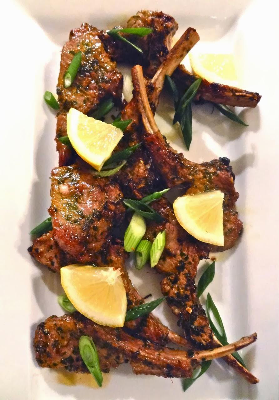 Lamb Chops With Cilantro-Mint Sauce Recipes — Dishmaps