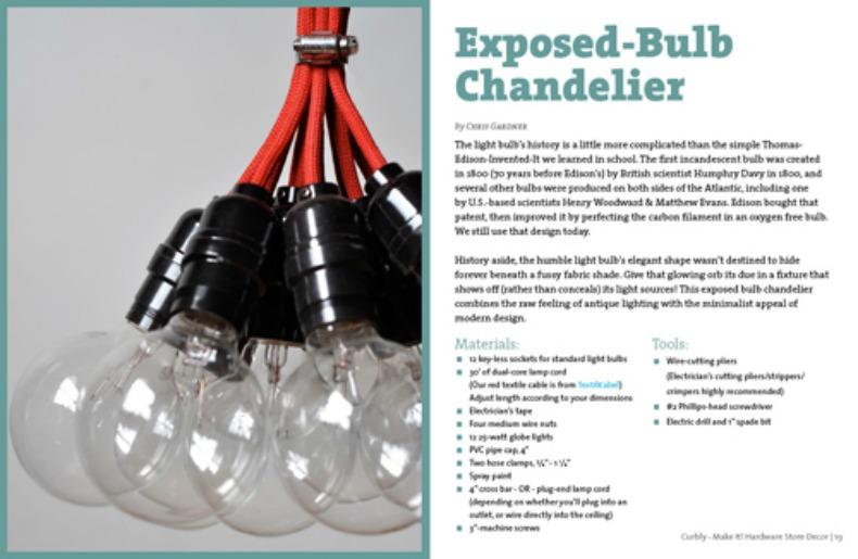 Heather Horwitz Design Design DIY Exposed bulb pendant chandeliers – Light Bulb Chandelier Diy