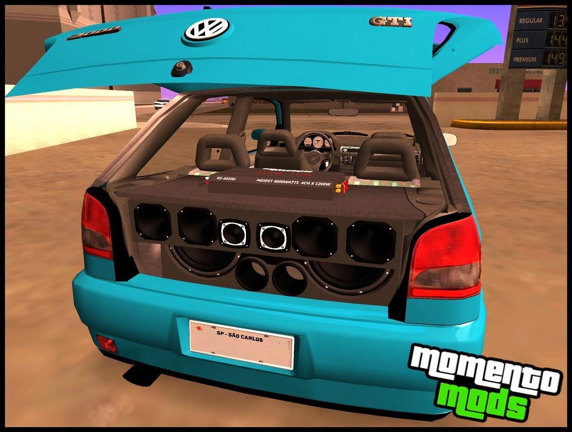 GTA SA - Gol GTI 16V Na Fixa + Som