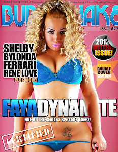Faya Dynamite Feature Cover Model @BubbleShake Magazine #22 Issue /