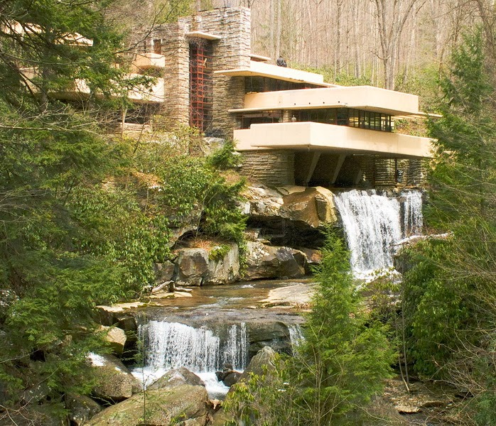 Travel Trip Journey Amazing Fallingwater House