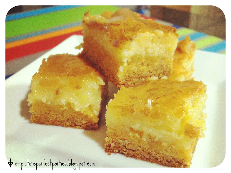 Measurements of Merriment: Ooey Gooey Butter Cake Bars