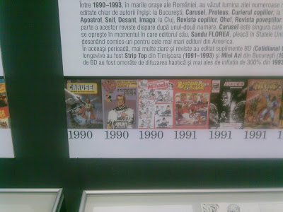 photo of romanian comic books from the early 90s carusel bucuria copiilor johnny john mihalea android proteus
