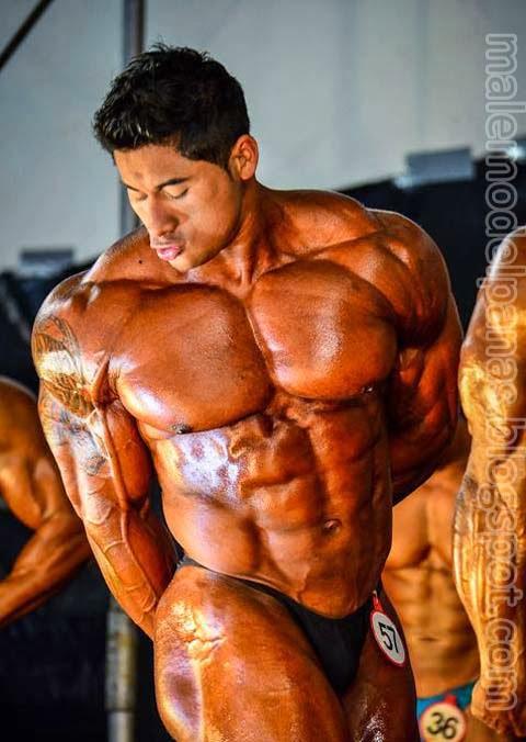 Musclehunks Ko Ryu from Peru