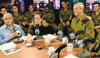 Benny Gantz speaking with Ilana Dayan Tuesday on Army Radio.