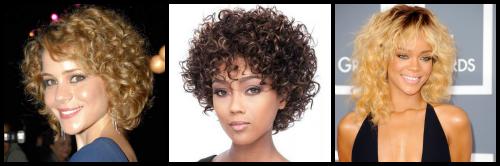 Corte para cabelos cacheados para verão 2014