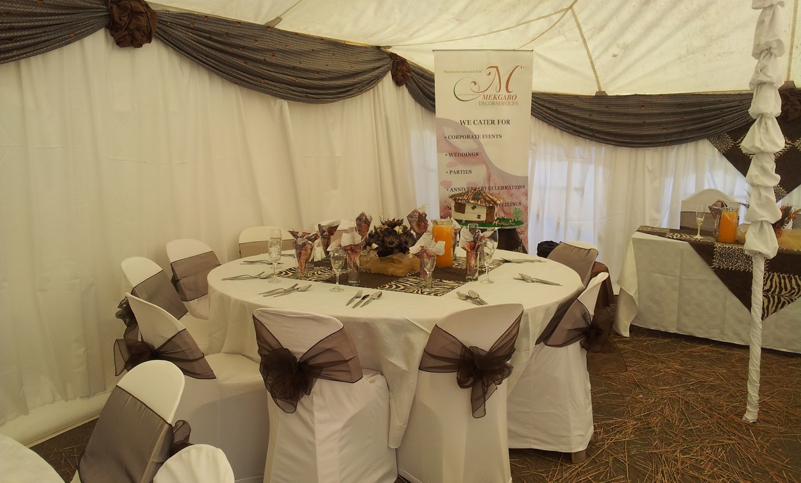 Wedding Decor Ideas Traditional : Tshepi s traditional wedding mekgabo decor services