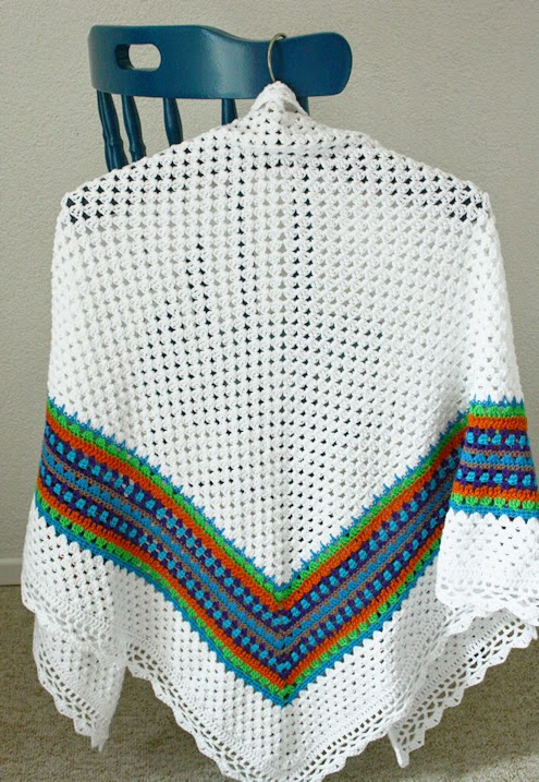 Nordic shawl