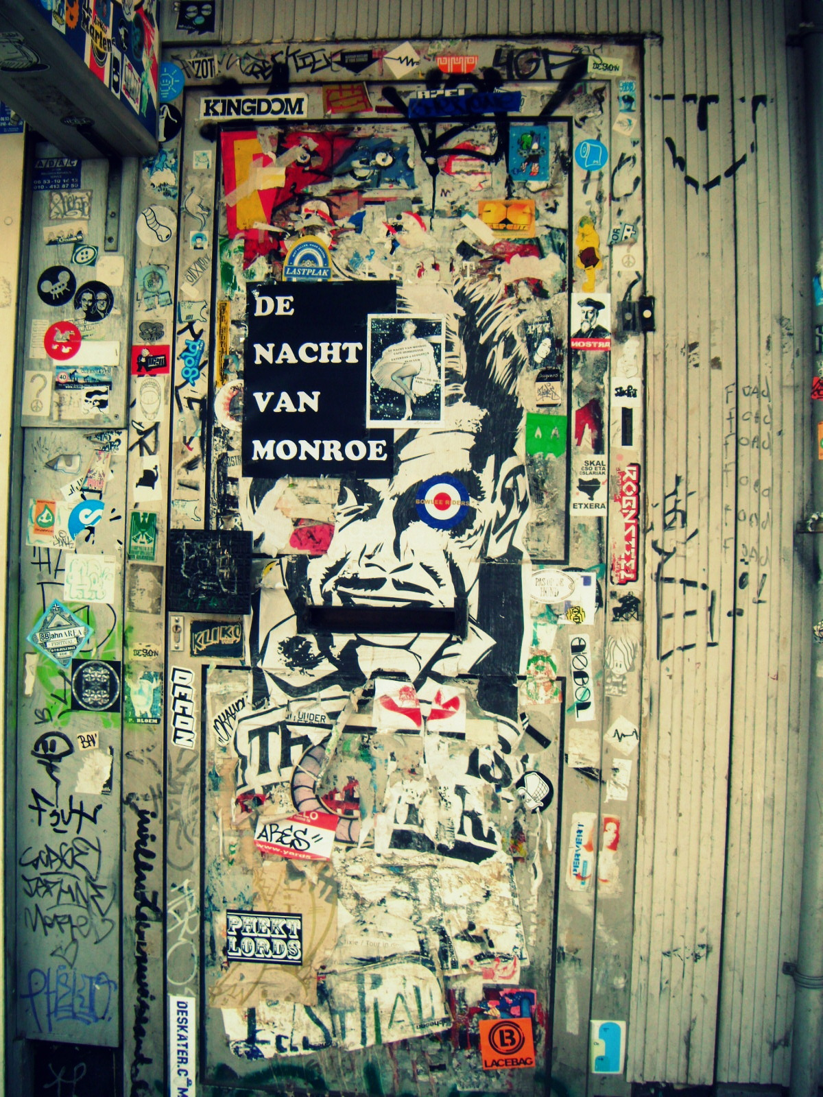 just 4 street art stickers combo rotterdam. Black Bedroom Furniture Sets. Home Design Ideas