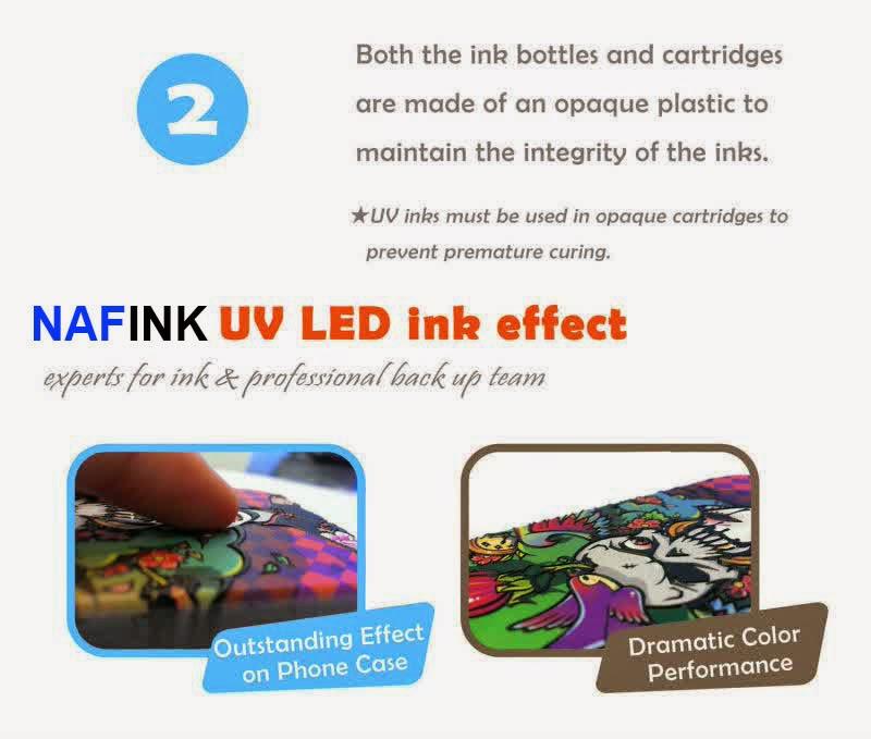 Jual Tinta UV LED Ink Hard Material Dan Soft Material