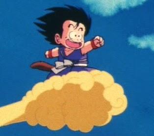 [Missão C] Banrok & o incêndio. Goku+nuvem+voadora