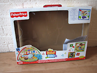 Fisher Price Baby Zoo Baby gym: een super-de-luxe babygym van Fisher Price!