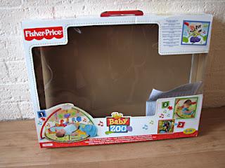 Fisher Price Baby Zoo Baby gym: een super-de-luxe babygym van Fisher Price!