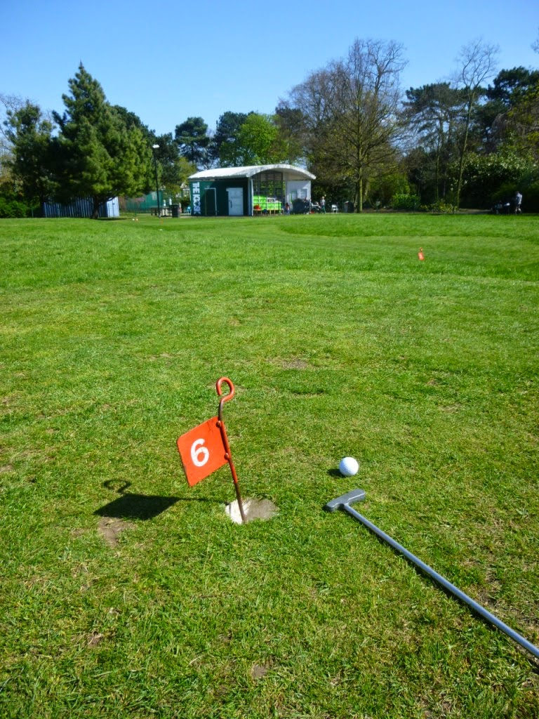 Mini Golf Putting Course at Russell Park in Bedford