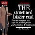 Style Obsession | The Structured Blazer Coat