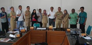 Minati E-goverment, Diskominfo Raja Ampat Sambangi Kota Pekalongan