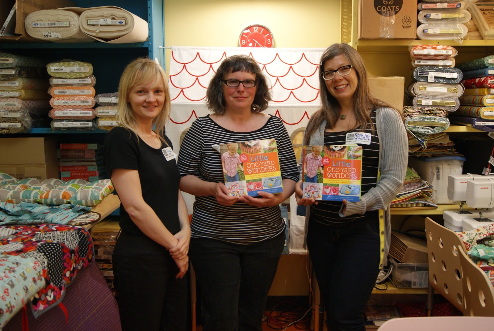 Contributors and authors of Little One-Yard Wonders