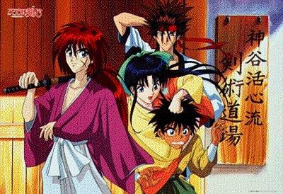 Kumpulan Gambar Animasi Samurai X Jepang | Short News Poster