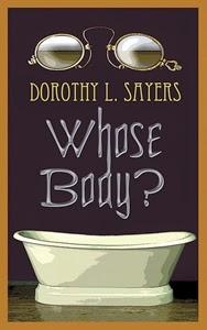 Portada anglosajona de El cadáver con lentes, de Dorothy L. Sayers