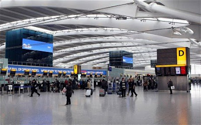 Terminal 5 Heathrow London