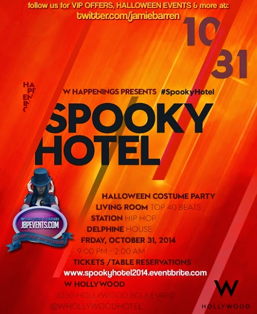 """Spooky Hotel W Hollywood Halloween"""