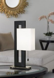 Floating Square Table Lamp Design