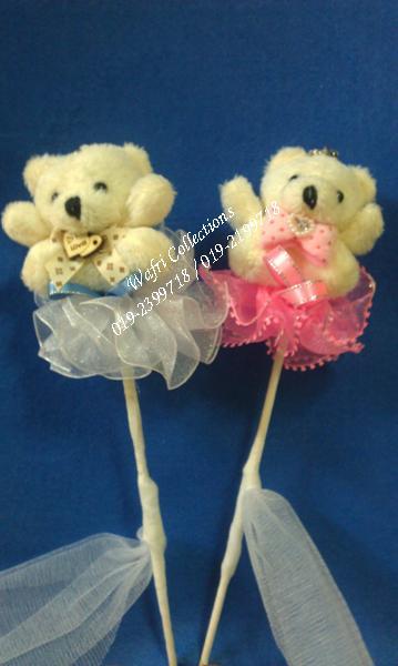 Bunga Telur Teddy Bear