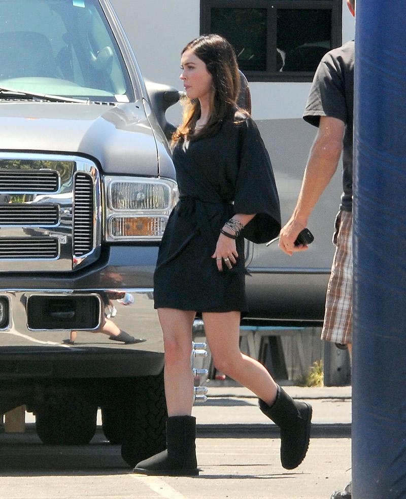 Reaparecio Megan Fox.