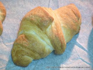 croissant horneado