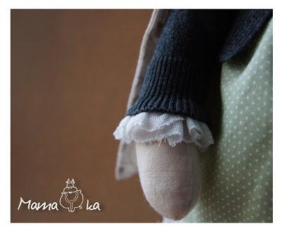 Текстильная интерьерная игрушка. Авторская работа