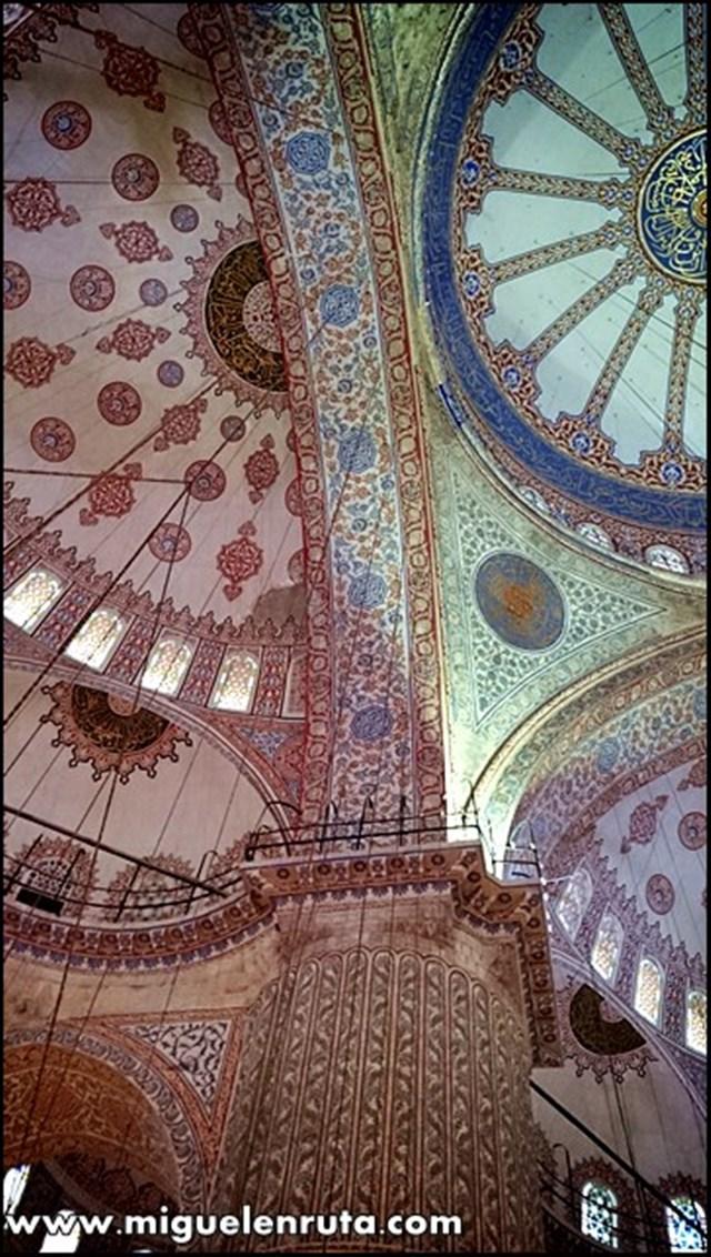 Mezquita-Azul-bóveda_2