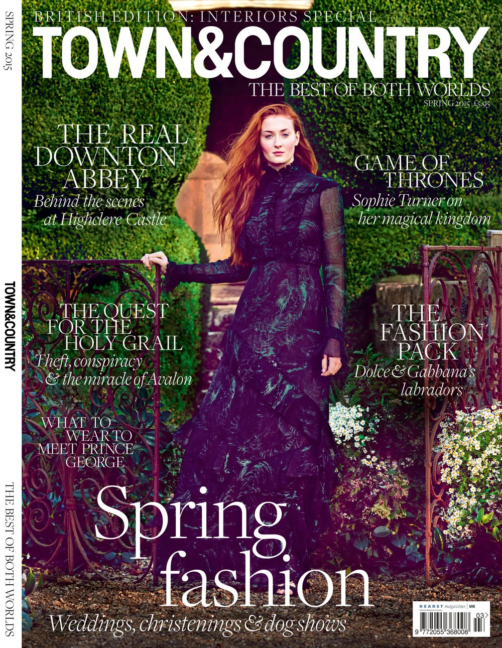 Actress: Sophie Turner for Town & Country Magazine UK