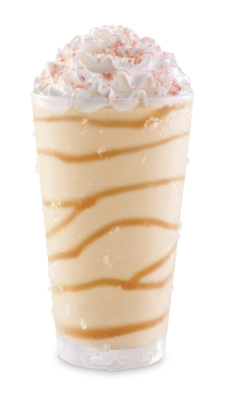 new, limted-time Salted Caramel Shake. It comes with a caramel ...