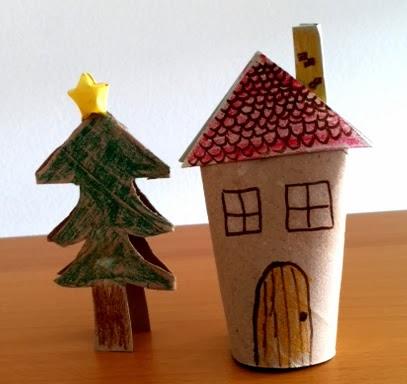 Manualidades 5 manualidades de navidad con rollos de papel - Arbol de papel manualidades ...
