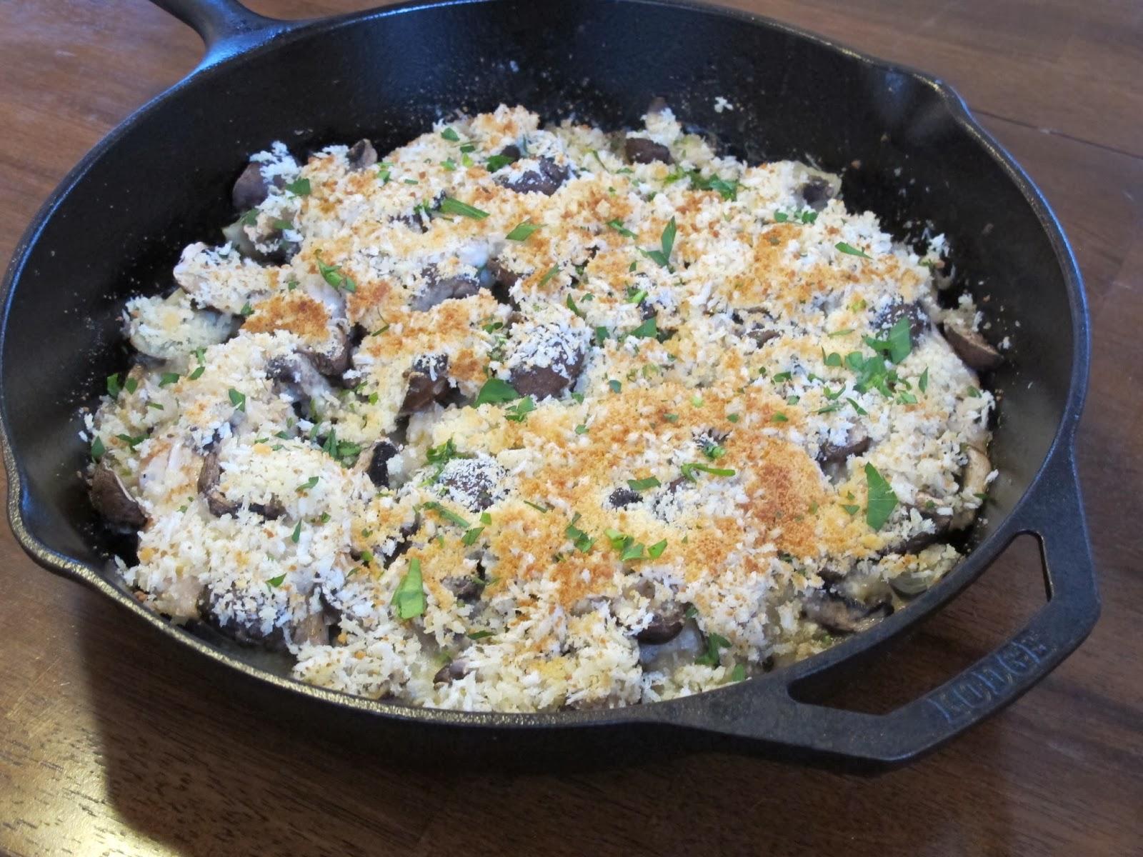 Creamy Chicken, Mushroom, & Artichoke Casserole