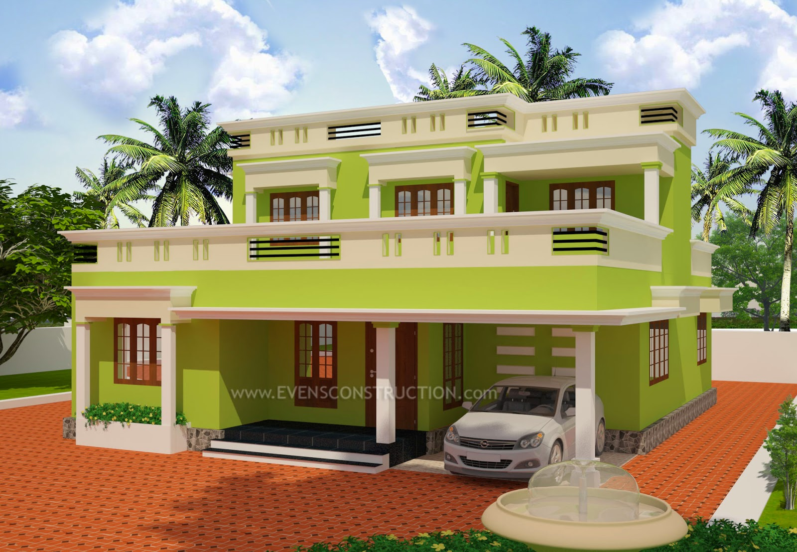 Kerala style house gates simple design joy studio design for Minimalist house kerala