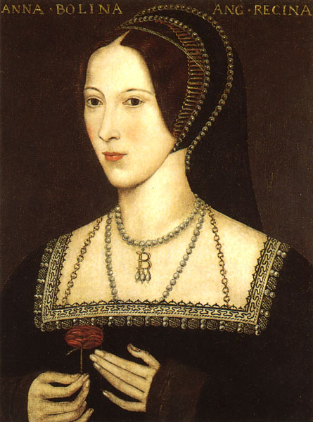 """Anne Boleyn /""""The Most Happy/"""" Queen of England Tudors Set of 8 magnets or pins 1/"""""""