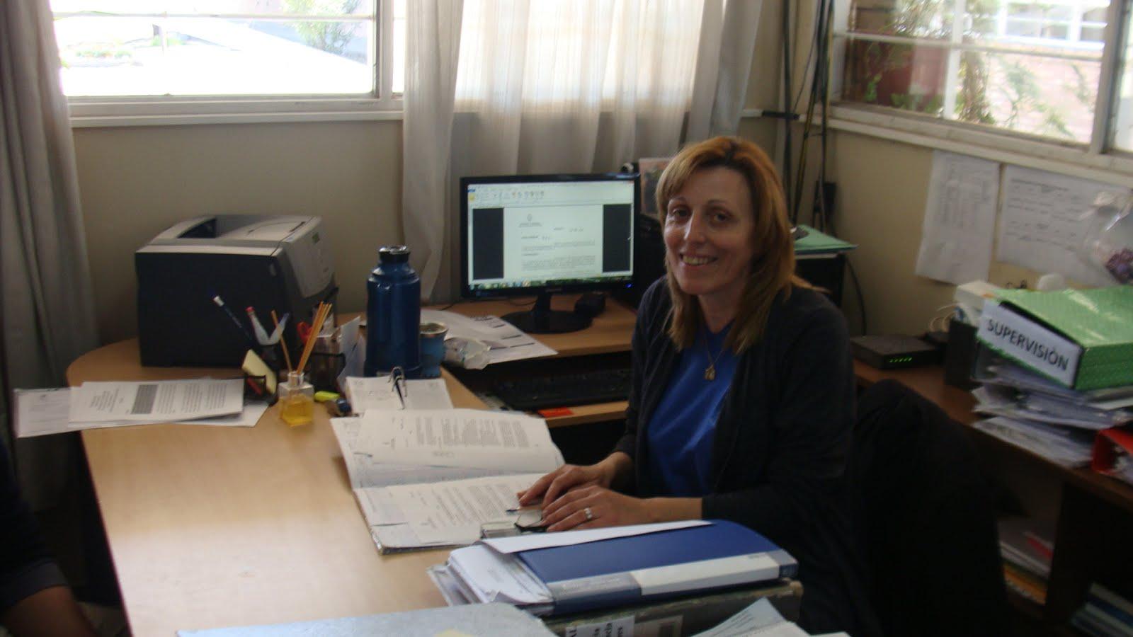 """Profesora Patricia Salomon, Directora Escuela 4-025 """"Los Corralitos"""""""