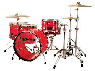 Ludwig Drum Set - Vistalite Series