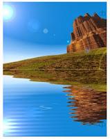 Gambar Danau. Dodi