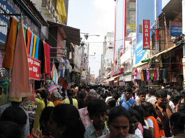 Crowds in India