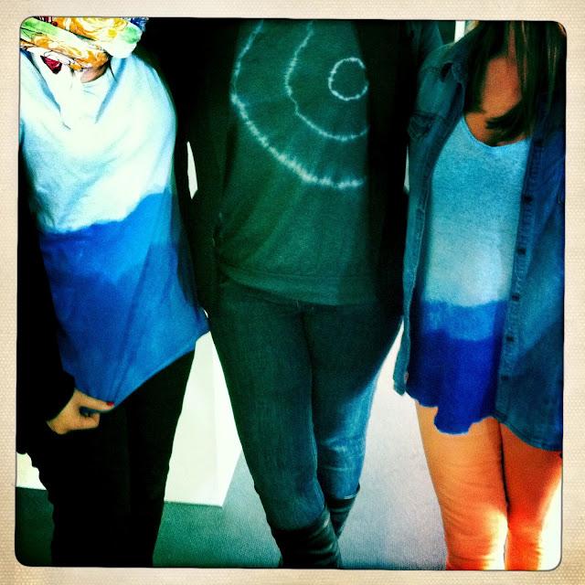 DIY Das mach ich selber! Batik und Dip Dye Shirts