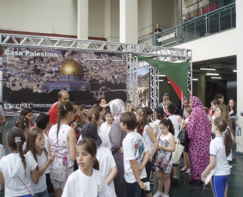 Niños Palestinos en el FSMPL