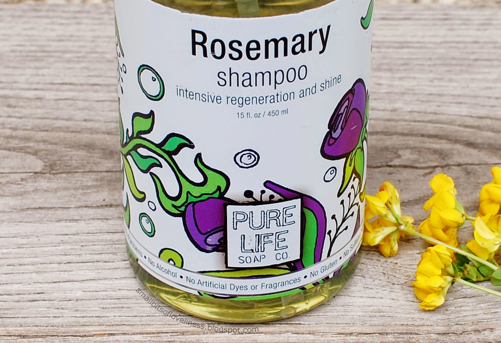 Rosemary Shampoo Pure Life Soap Co.