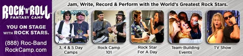 #MusicNews - Rock and Roll Fantasy Camp