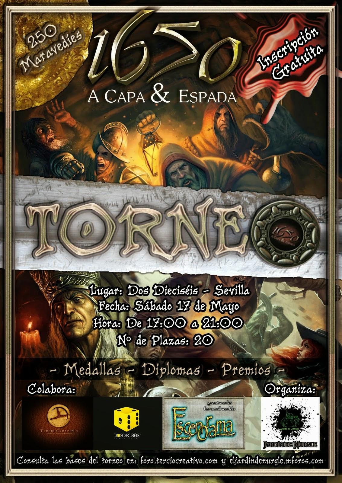 "torneo de 1650 ""A capa y espada"""