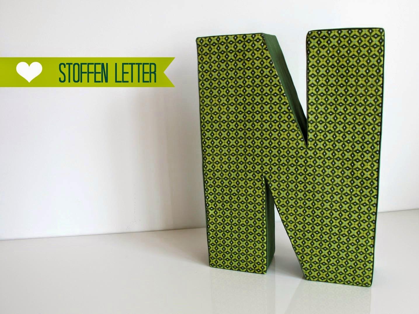 Pieke Wieke, Stoffen letters workshop
