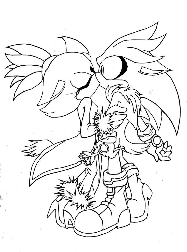 Silver x Blaze  Silvaze  55 Hora de los Sonic Heroes