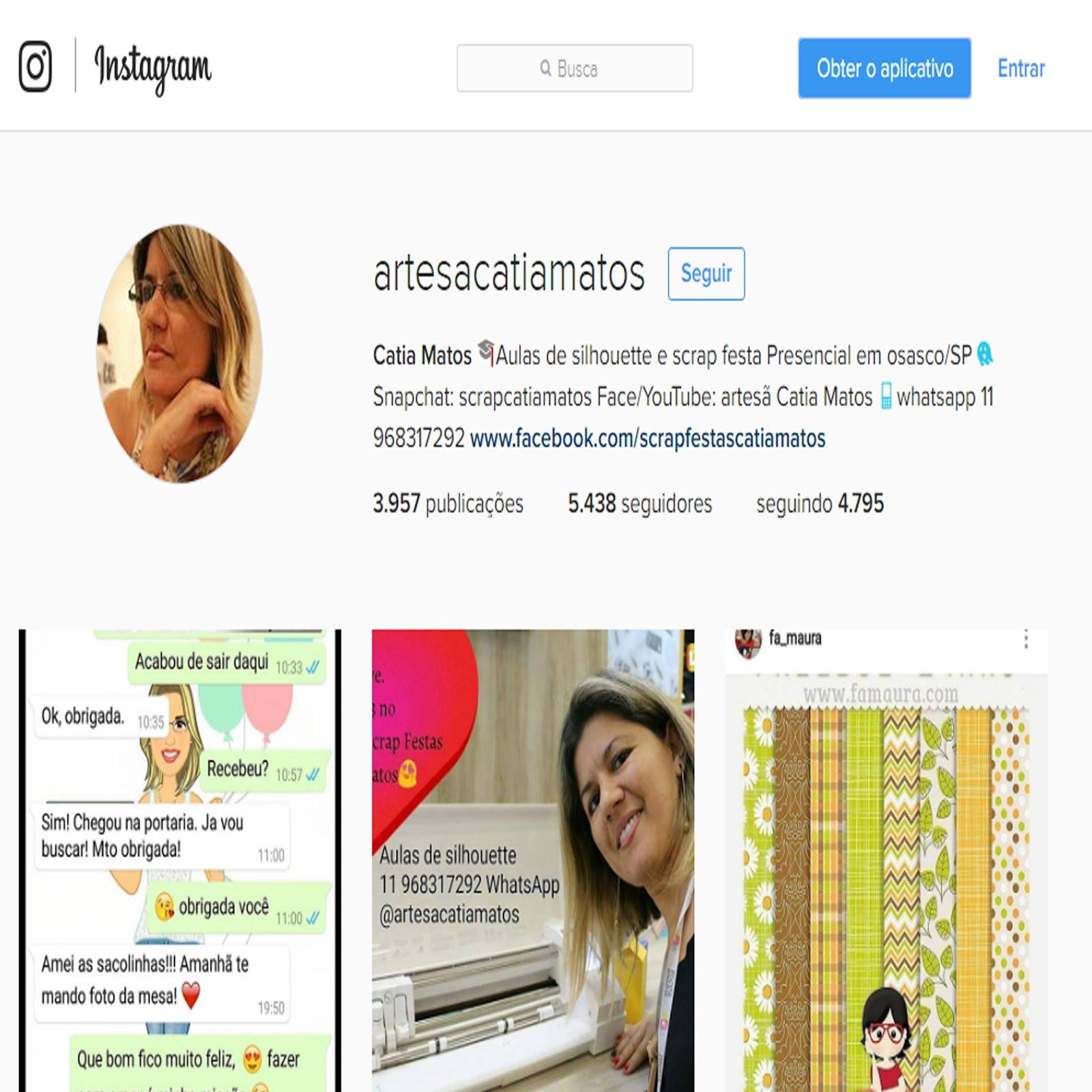 siga meu instagram